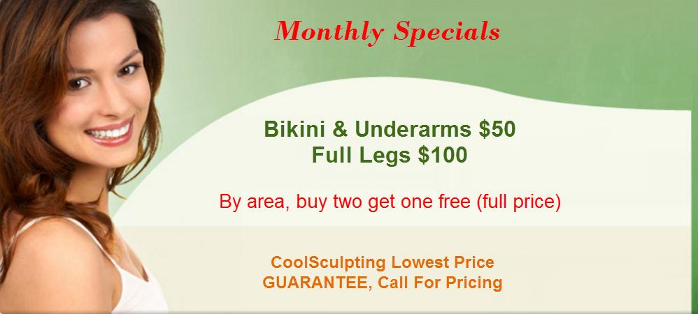 Fix skin laser center monthly specials