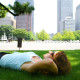 relaxing-in-park